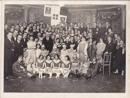 BRA -Scuola  Tecnica Comunale - Studenti Ed Insegnanti - Anni 20 - Carnevale - Originale - Lugares