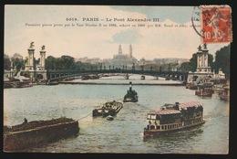 PARIS   LE PONT ALEXANDRE III - France