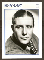 PORTRAIT DE STAR 1935 FRANCE - ACTEUR HENRY GARAT - ACTOR CINEMA FILM - Fotos