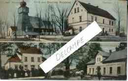 """Rare Carte Postale. Photographies Coloriées : """"Gruss Aus Deutsch Weichsel"""" (salutations Du Village Deutsch Weichsel) - Allemagne"""