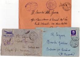 ITALIA  Storia Postale   Lotto Di 3 Buste Di Posta Militare 179 + 179 + 181 - 1900-44 Vittorio Emanuele III