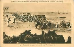 Cpa SAINT MAUR DES FOSSES 94 L Industrie Boutonnière - La Fabrication Des Boutons De Corozo - Quai D'embarquement - Saint Maur Des Fosses