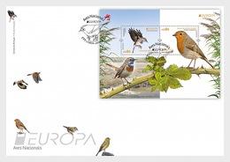 Portugal - Postfris / MNH - Complete Set FDC Europa, Vogels 2019 - 1910-... Republiek