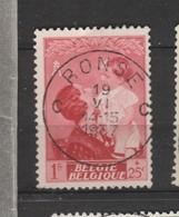 COB 452 Oblitération Centrale RONSE - Belgique