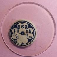Verres De Montre à Gousset 3,60 Cm De Diamètre (11-7/8)- (15-15/16) (Proche Du Neuf Jamais Monté) - Unclassified