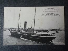 "Cpa 35 Saint Malo  Le  ""Hilda""  Avant Le Naufragedu 19 Novembre 1905 - Saint Malo"