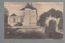 CPA (18) Fussy - Château De Contremoret - Entrée - Francia