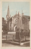 49 - CPA CHAUDEFONDS - MONUMENT DE LA GRANDE GUERRE - France