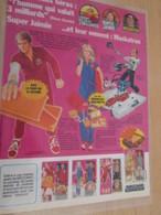 DIV415 : Clipping PAGE DE REVUE TINTIN ANNEES 60/70 EN COULEURS : SUPER JAIME STEVE AUSTIN ET MASKATRON (pas Georges) - Autres