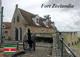 Suriname Fort Zeelandia Fortress New Postcard - Surinam