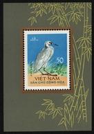 Vietnam 1963 - Mi-Nr. Block 8 (*) - Ohne Gummi Verausgabt - Vögel / Birds (II) - Viêt-Nam
