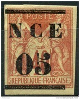 Nouvelle Caledonie (1881) N 3 * (charniere) - Unused Stamps