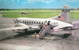 "3669 ""PAN AMERICAN AIRWAYS CONVAIR 240"" ANIMATA CARTOLINA POSTALE ORIG. NON SPEDITA - 1946-....: Era Moderna"