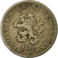 Monnaie, Tchécoslovaquie, 20 Haleru, 1926, TB+, Copper-nickel, KM:1 - Czechoslovakia