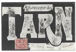 Tarn Illustrateur Liozu Souvenir Du Tarn Personnages De Liozu - France