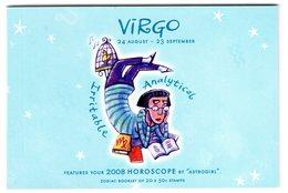 Australia 2008 Prestige Booklet Zodiac Virgo Sterrenbeeld Maagd Virgin - Astrology