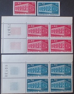 R1949/773 - 1969 - EUROPA - N°1598 à 1599 NEUFS** - France