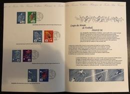 France Document - Coupe Du Monde De Football 1998 - Footix - France 98 - Fußball-Weltmeisterschaft