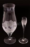 Rosenthal Talpas Váza és Gyertyatartó, Jelzett, Csorba Nélkül, M: 25 és 17 Cm - Glass & Crystal