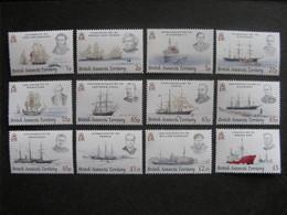Territoire Antarctique Britannique: TB Série N° 476 Au N° 487, Neufs XX. - Neufs