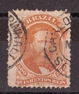 Brésil - 1866 - N° 29 Oblitéré - Empereur Pedro II - Gebraucht