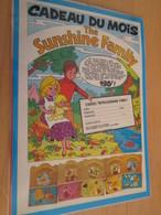 DIV415 : Clipping PAGE DE REVUE TINTIN ANNEES 60/70 EN COULEURS : POUPEE SUNSHINE FAMILY MATTEL TINTIN - Dolls