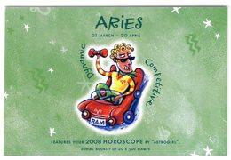 Australia 2008 Prestige Booklet Zodiac Aries Sterrenbeeld Ram - Astrology