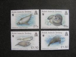Territoire Antarctique Britannique: TB Série N° 492 Au N° 495, Neufs XX. - British Antarctic Territory  (BAT)