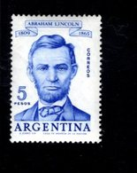 769173071 1960 SCOTT 712 POSTFRIS  MINT NEVER HINGED EINWANDFREI  (XX) ABRAHAM LINCOLN - Argentinien