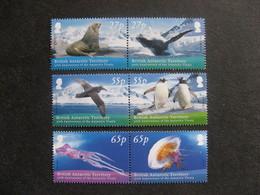 Territoire Antarctique Britannique: TB Série N° 496 Au N° 501, Neufs XX. - Neufs
