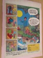 DIV415 : Clipping PAGE DE REVUE TINTIN ANNEES 60/70 EN COULEURS : POUPEE SUNSHINE FAMILY MATTEL TINTIN - Poupées
