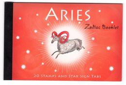 Australia 2005 Prestige Booklet Zodiac Aries Sterrenbeeld Ram - Astrology