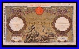 ITALY  100 LIT 1942 P-59a.1 - 100 Lire