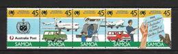 SAMOA 1988 BICENTENAIRE AUSTRALIE  YVERT N°644/48 NEUF MNH** - Samoa