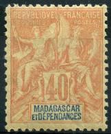 Madagascar (1896) N 37 * (charniere) - Non Classés