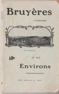 88 - BRUYERES - BEAU GUIDE TOURISTIQUE AVANT 1914 - Bruyeres