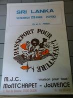Affiches - M.J.C Montchapet  Dijon - Passeport Pour L'Aventure - Affiches