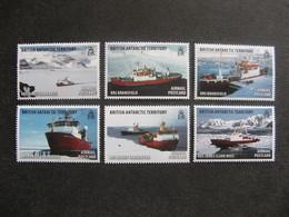 Territoire Antarctique Britannique: TB Série N° 544 Au N° 549, Neufs XX. - Neufs