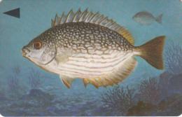 BAHRAIN(GPT) - Fish Of Bahrain/Streaked Rabbitfish, CN : 39BAHQ/B(normal 0), Used - Bahrain