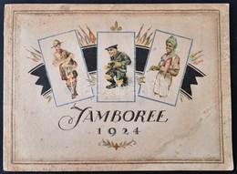 1925 Az 1924-es Dániai Jamboree Részvevőiről, Eseményeiről Készített Rajzok, 4 Színes Táblával, A Rajzoló Márton Lajos S - Scouting