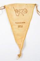 1931 Hárshegyi Cserkésztábor Zászlója. 30x18 Cm - Scouting