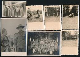 Cca 1930-1940 Cserkészek, 7 Db Fotó, 6×9 és 9×12 Cm Között - Scouting