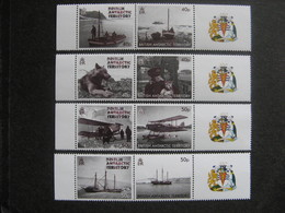 Territoire Antarctique Britannique: TB Série N° 572 Au N° 579, Neufs XX. - Neufs