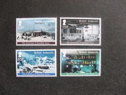 Territoire Antarctique Britannique: TB Série N° 595 Au N° 598 , Neufs XX. - Neufs