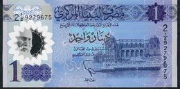 LIBYA NLP 1 Dinar 2019 UNC - Libya