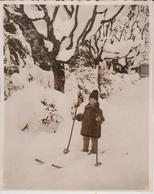 ENGELBERG  SWITZERLAND  SUIZE  WINTER SPORT  26* 20 CM Fonds Victor FORBIN 1864-1947 - Fotos