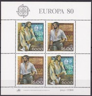 Portugal  1980 Yvertn° Bloc 30 *** MNH Cote 7,00 Euro Europa Cept - Blocs-feuillets