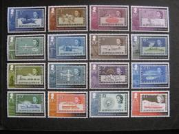 Territoire Antarctique Britannique: TB Série N° 611 Au N° 626 , Neufs XX. - Neufs