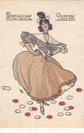 Ballerina - Sign. FG. - 1911    (90515) - Illustratori & Fotografie