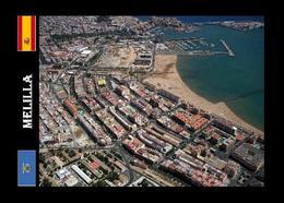Melilla Aerial View New Postcard - Melilla
